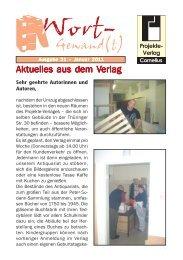 Wort-Gewand(t) 21 (1).pmd - Projekte-Verlag Cornelius