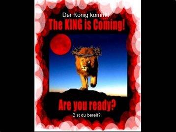 Der König kommt! - worldwidewings