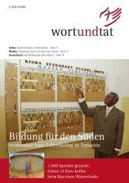 WUT-760-10 Magazin 03-10 RZ.indd - wortundtat