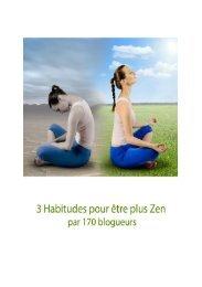 Antistress : 3 habitudes à acquérir pour être zen ... - Inspired Melodies