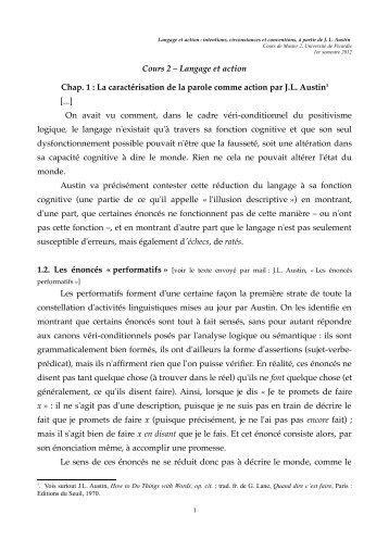 Cours 2 - Université de Picardie Jules Verne
