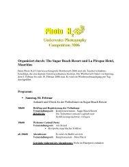 The Sugar Beach Resort und La Pirogue Hotel ... - Taucher.Net