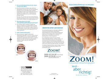 ZOOM-Bleaching - Dr. Micke