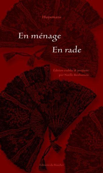 En ménage - En rade - Éditions du Boucher