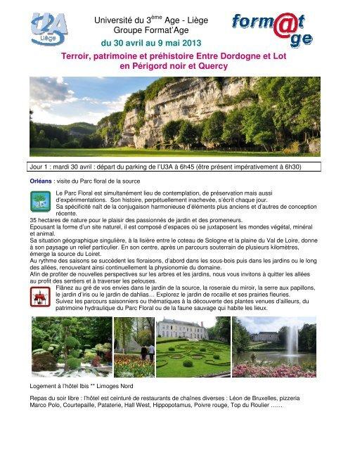 Université Du 3ème Age Liège Groupe Format Age Du 30 U3a