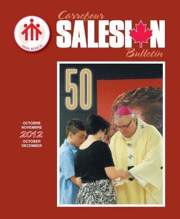 Carref_Salesien_oct-dec_2012 - Don Bosco Canada