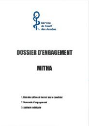 dossier MITHA 2013.pdf - Ministère de la Défense