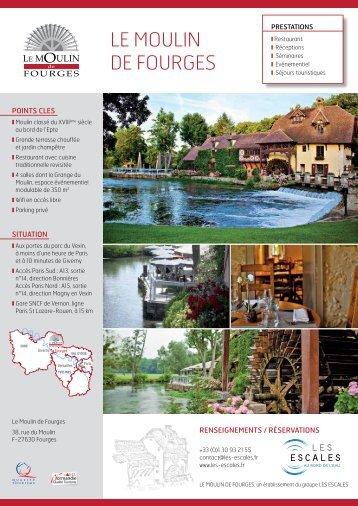 Mariages au Moulin de Fourges - Le Moulin de Fourges