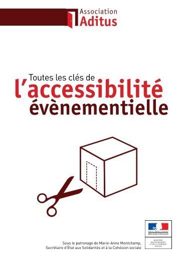 Toutes les clés de l'accessibilité évènementielle - Association Aditus