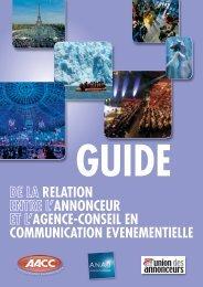 relation annonceur agence-conseil en communication evenementielle