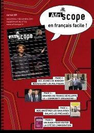 Carnet en français facile n°9 Afriscope 23