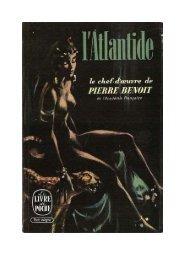 Pierre Benoit L'ATLANTIDE - Jeanne c'est nous