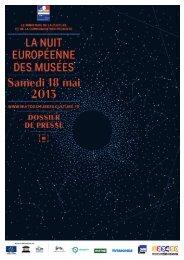 nuit europeenne des musees samedi 18 mai 2013 ... - Radio France