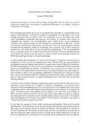 version originale - Association Psychanalyse Jacques Lacan