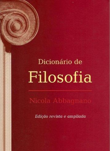 Dicionario de filosofia.pdf - Charlezine
