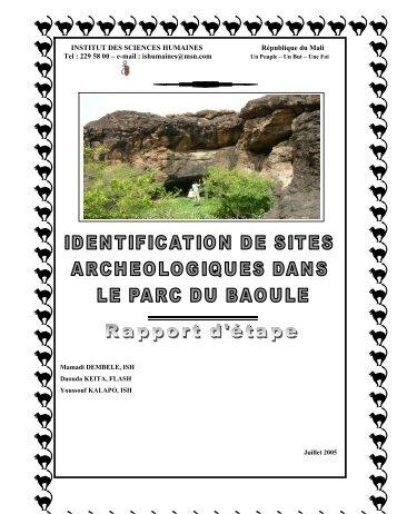 INSTITUT DES SCIENCES HUMAINES République du ... - Unesco