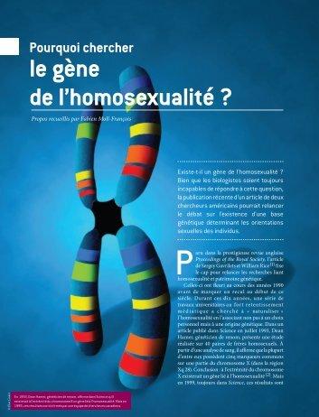 Biologie de lhomosexualit