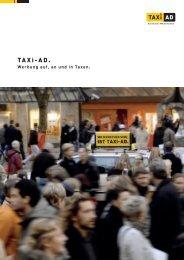 Produktportfolio alle Medien (PDF ca 1.6 MB) - Taxi-Ad GmbH