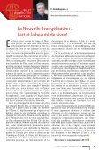 Synode sur la Nouvelle évangélisation : - OPM Canada - Page 3