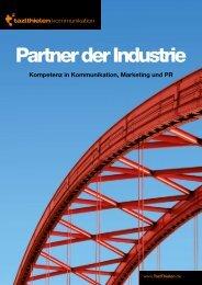 Broschüre Partner der Industrie als Download - TazlThielen ...