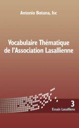 Essais Lasalliens 3_fra:Layout 1.qxd - De La Salle Christian Brothers