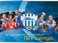Liebe Freunde spannender Sport-Events, liebe ... - TBV Lemgo
