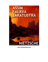 Assim Falava Zaratustra - eBooksBrasil