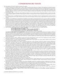CONDITIONS DE VENTE - Galerie Fischer Auktionen AG