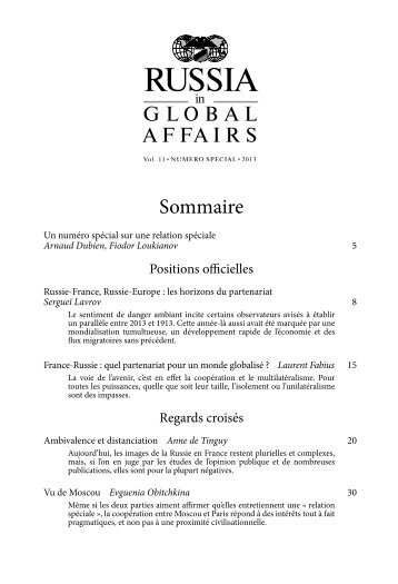 Sommaire - CCIFR