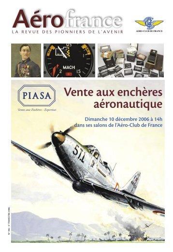 Le catalogue - Aéro-club de France