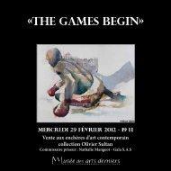 Vente aux enchères d'art contemporain collection Olivier Sultan