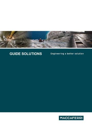 Brochure - GUIDE DES SOLUTIONS ... - France Maccaferri
