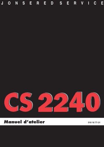 Manuel d'atelier - Jonsered.com