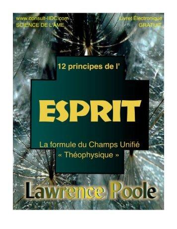 esprit - Lawrence Poole