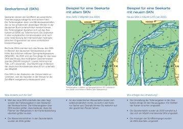 Neues Seekartennull - und Schifffahrtsdirektion Nordwest