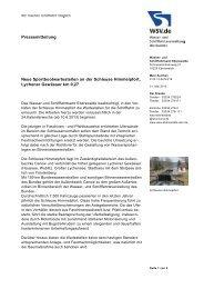 Lychener Gewässer km 0,27 - Wasser- und Schifffahrtsverwaltung ...