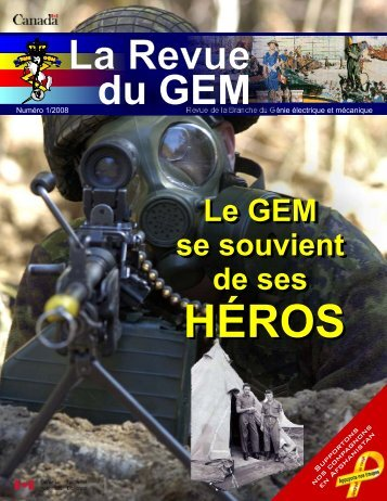 2008 Journal de GEM Numéro #1 - The EME regiment