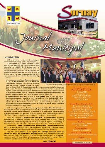 Juin 2012 - Commune de SORNAY (71)