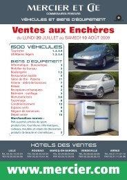 COMMISSAIRES - Mercier & Cie