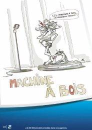 Téléchargement catalogue en PDF Rubrique MACHINE A BOIS