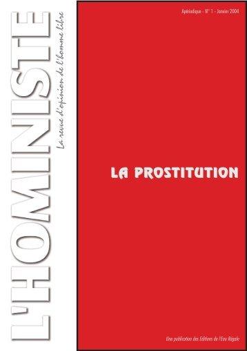L'HOMINISTE - La revue d'opinion de l'homme libre