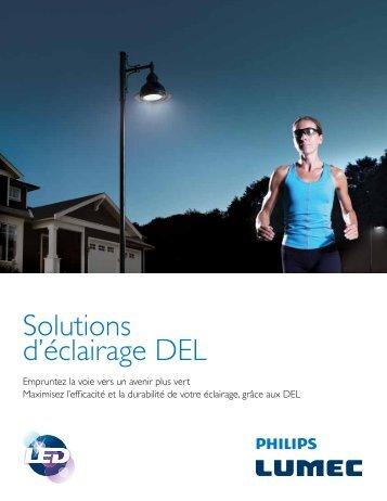 Brochure Solutions d'éclairage DEL - Lumec