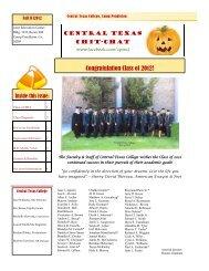 Congratulation Class of 2012! - Central Texas College