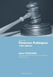 Finances Publiques - Bonn Steichen & Partners