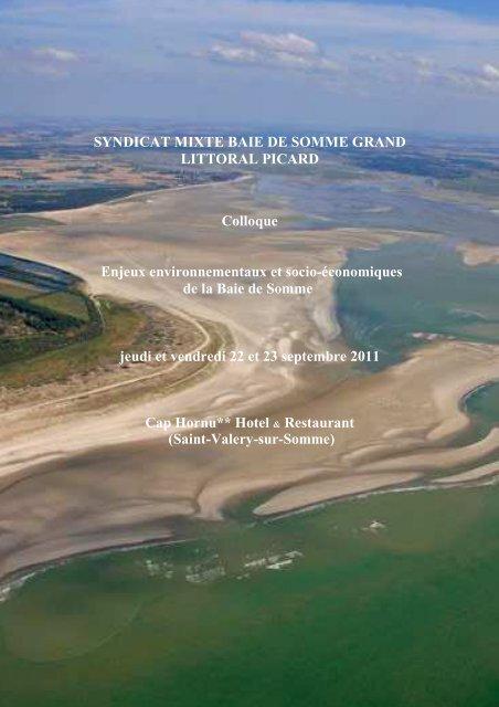 Actes du COLLOQUE BAIE DE SOMME - Syndicat Mixte Baie de ...