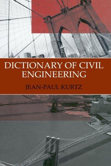 Dictionary of Civil Engineering.pdf - CEMstandards