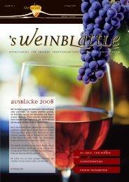 wein_blaettle_2_2008:Layout 1 - Weingut Albert und Konrad Zaiß