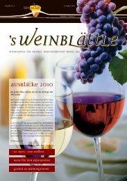 wein_blaettle_4_2010:Layout 1 - Weingut Albert und Konrad Zaiß