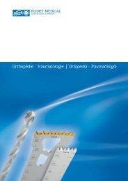 Orthopédie · Traumatologie | Ortopedia ... - Komet Medical