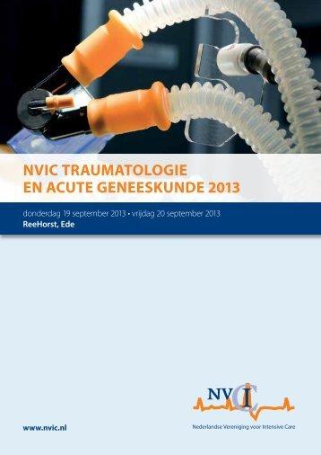 nvic traumatologie en acute geneeskunde 2013